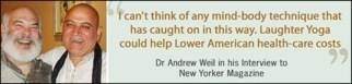 andrew weil and dr kataria laughter quote